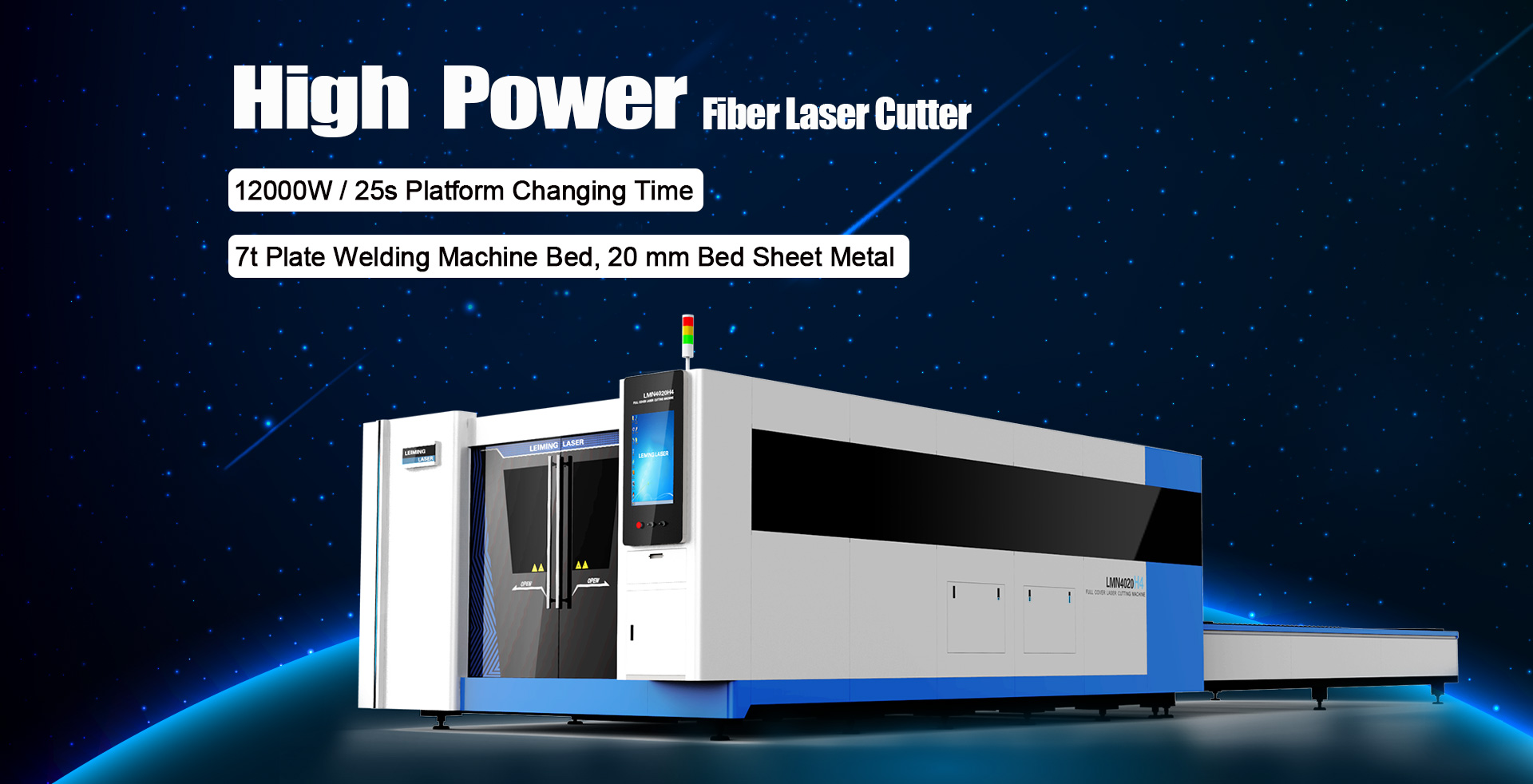 LMN4020H4 fiber laser cutting machine